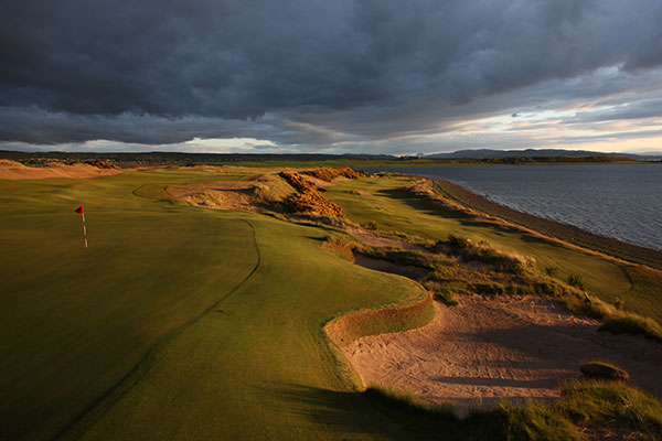 Scotland Highland Golf Packages - Castle Stuart 7th Hole